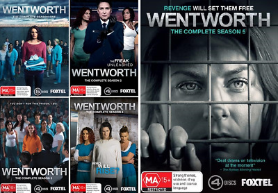 Wentworth Complete Seasons 1-5 : NEW DVD