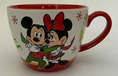 Disney Store Minnie Mickey Mouse Marie From Aristocats Christmas Coffee Mug Cup