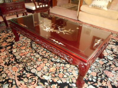 Rosewood coffee table , Imperial Court Design