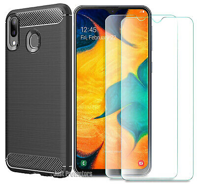 Samsung Galaxy A20 A30 A50 A70 A90 5G Matte Frosted Protective Back Cover Case