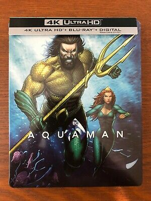 Aquaman SteelBook (Best Buy Exclusive)(Case Only)  Excellent condition