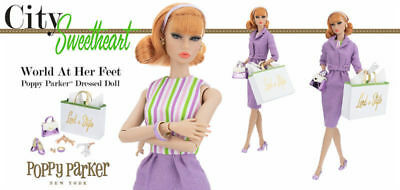 Fashion Royalty Integrity Poppy Parker World At Her Feet Dressed Doll NRFB