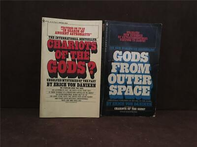 Chariots Of The Gods? 17th Printing & Gods From Outer Space Erich Von Daniken PB
