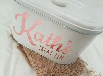 Personalised Pet Storage Teacher Treat Tin Small (Dispatched 20th September)