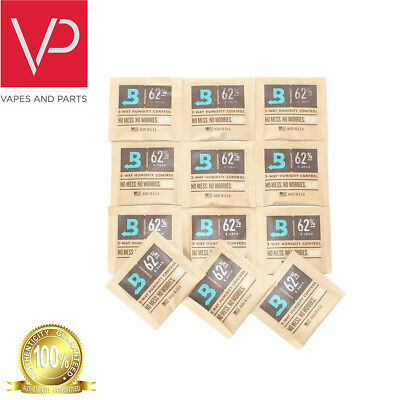 Boveda Medium 8 Gram Humidipak 62% - 12 Pack