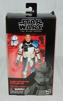 "STAR WARS BLACK SERIES HASCON 2017 EXCLUSIVE 6/"" FIGURE CLONE CAPTAIN REX BNIB"
