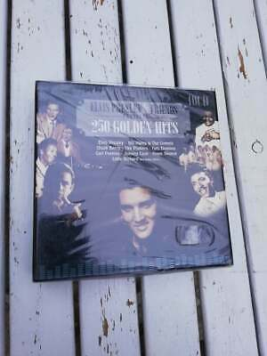 Box 10 Cd - 250 Golden Hits - ELVIS PRESLEY & FRIENDS - Nuovo !!!!!!!!!!