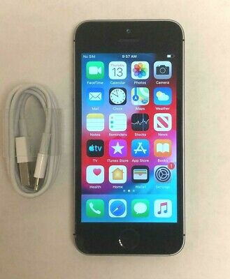 90575cb228d761 Apple iPhone SE 32GB, Factory Unlocked (AT&T T-Mobile Verizon) Space Gray