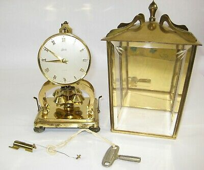 Vintage Schatz 400 Day Carriage Anniversary Clock Made in Germany 4 Repair Parts