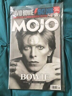 David Bowie Commemorative Issue MOJO Magazine March 2016 NEW AND SEALED COPY
