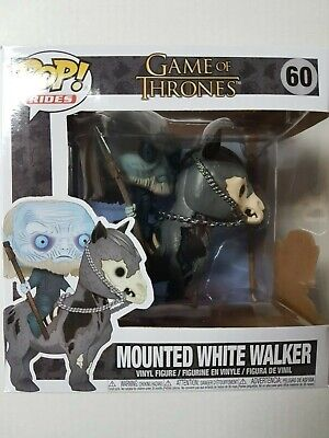Funko Pop Game of Thrones #60 Mounted White Walker Figure Brand New