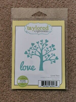 Taylored Expression Die Cut Love Tree