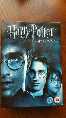Harry potter dvd the complete 8 film collection box set