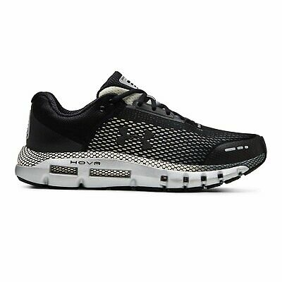 Men's Under Armour UA HOVR Infinite Running Shoe - Black/Pitch Grey 3021395-004