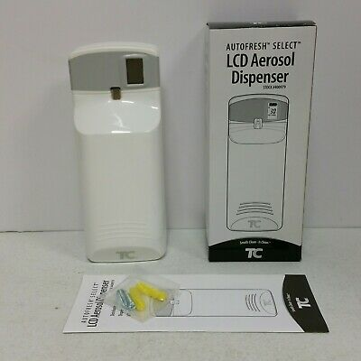 TC Autofresh Select LCD Meter Mist 3000 LCD Aerosol Wall Dispenser 400979 Zep