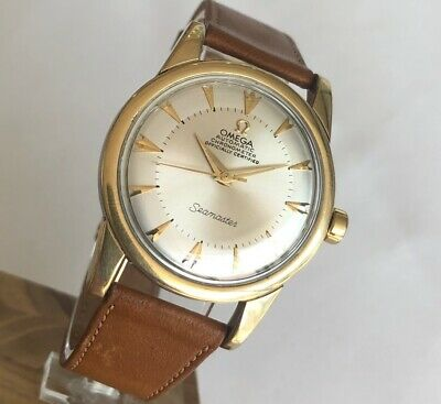 OMEGA SEAMASTER AUTOMATIC Cal. 354 Ref. 2577-5 VINTAGE  GOLD & STEEL  MEN WATCH