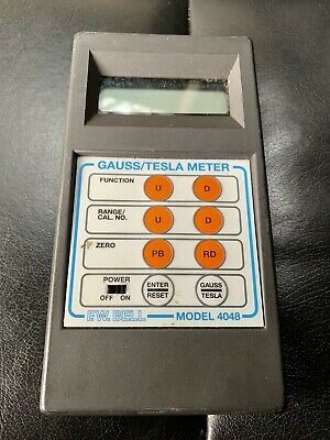 F.W. BELL Model 4048 Gauss / Tesla Meter
