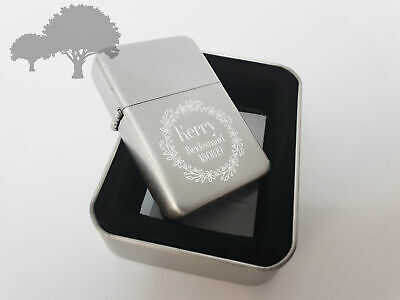 Personalised Engraved Lighter Wedding Favour Thank You Gifts Present Usher Gift