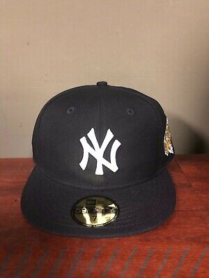 pretty nice ffd6f 500d5 New Era New York Yankees 1996 World Series Collection Navy Blue Fitted Hat  MLB