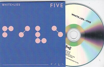 White Lies Five Rare 9 Track Numbered Promo Cd