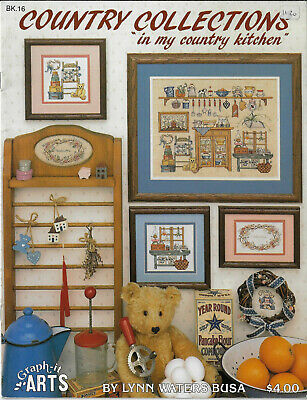 In My Country Kitchen Graph-It Arts cross stitch chart book Lynn Waters Busa