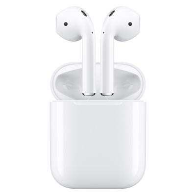 Apple AirPods Wireless Bluetooth White Earphones with Charging Case MMEF2AM/A