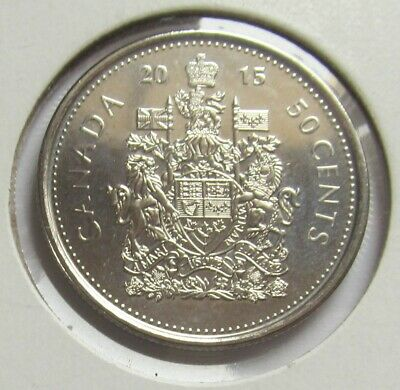 2015 CANADA NICKEL HALF DOLLAR ( 50 CENT COIN ) -combined shipping