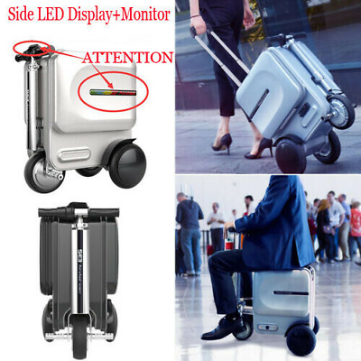 New 29.3L Airwheel S3 Electric PC Suitcase Scooter Travel Carry Luggage Business