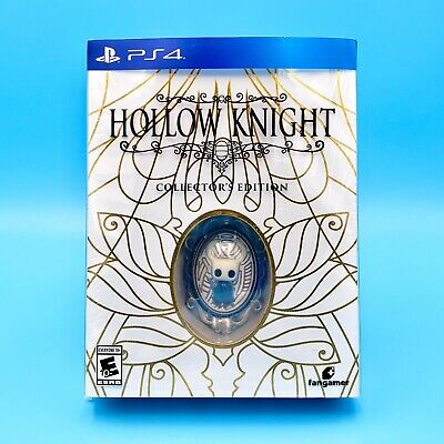 Hollow Knight Collector's Edition (PlayStation 4, PS4) Ships May/Early June