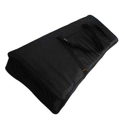 76 Key Keyboard Electronic Piano Bag Case Carry Oxford Cloth Black Tote Backpack