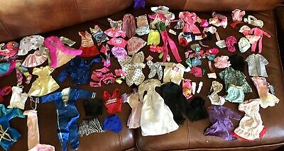 BIG LOT BARBIE CLOTHES AND ACCESSORIES- Ken Skipper And Barbie.  Huge!!!!!!