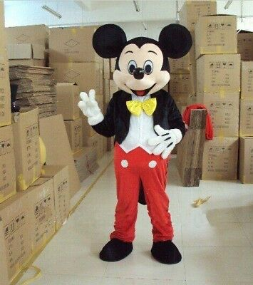 2019 Minnie Mouse Mascot Costume Suits Cosplay Party Game Adults Dress Mask