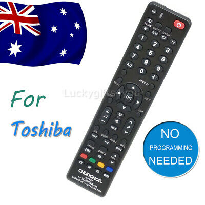 NEW Universal Toshiba TV Remote Control Replacement | 3D LCD LED HDTV HD TVs OZ