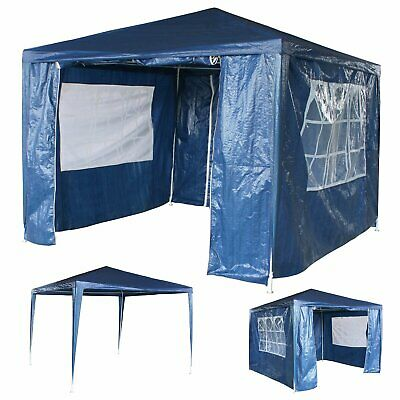 3Mx3M Party Tent Outdoor PE Garden Gazebo Marquee Canopy Awning Waterproof LQ