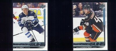 2018-19 18-19 UD Upper Deck Series 2 Young Guns #466 Isac Lundestrom RC