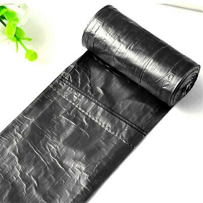 Durable 50pc/roll Garbage Trash Bags Disposable Plastic Home Kitchen Dustbin Bag
