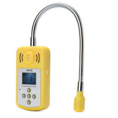 KXL-8800B LCD Combustible Gas Detector Gas Leak Location Determine Tester V1D4