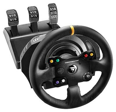 Thrustmaster TX Leather Racing Wheel and Pedal Set