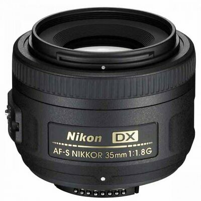 Brand New Original Nikon AF-S 35mm F1.8g Black Lens IT*1