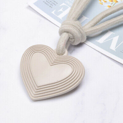 Curtain Heart Home Buckle Holder Tie Decor Tieback Clips Backs Window Clip T