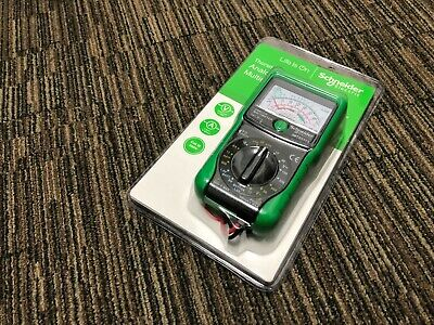 Schneider Electric IMT23113 Thorsman Analogue Multimeter - 63525/10