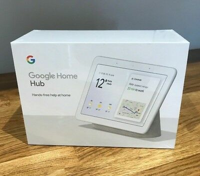 Google Home Hub - Chalk - new sealed