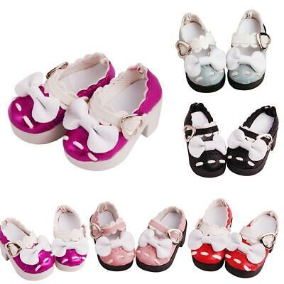 1Pair PU Leather Doll Shoe Fits for 23 inch Doll