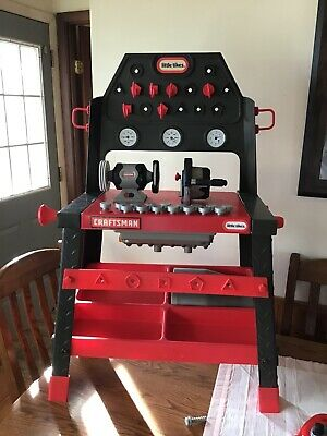 Astonishing Rare Must See Vintage 1984 Little Tikes Workbench With Ocoug Best Dining Table And Chair Ideas Images Ocougorg
