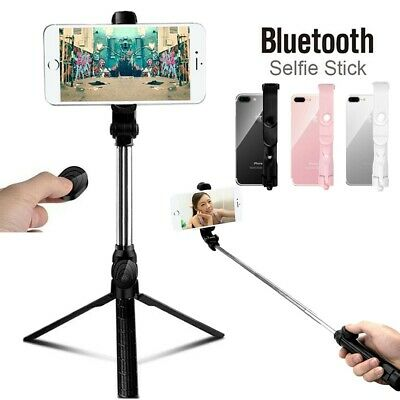 3 in 1 Wireless Bluetooth Handheld Tripod Monopod Selfie Stick Shutter Remote