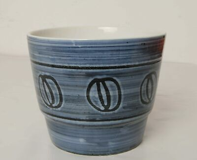 "Cinque Ports Pottery Rye Plant Pot with ""V"" Shape CRACK"