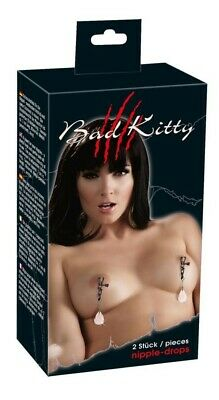 MORSETTI PER CAPEZZOLI Bad Kitty Nipple Drops