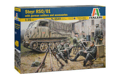 ITALERI Steyr RSO/01 with German Soldiers and Accessories Nr.: 6549 1:35