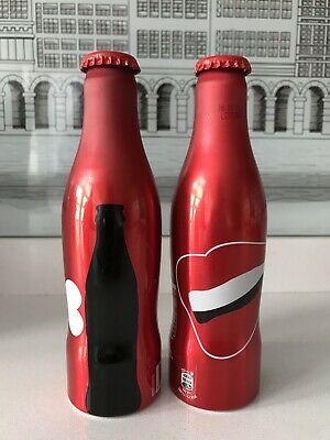 100 Years Contour Bottle Romania 2015. Aluminium Coca Cola Bottles