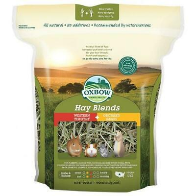Oxbow HAY BLENDS Timothy & Orchard Grass Natural Small Animal Rodent Food 1.1kg
